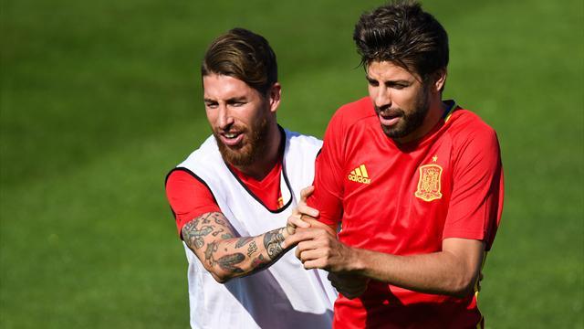 Sergio Ramos no quiere que el Bernabéu pite a Piqué