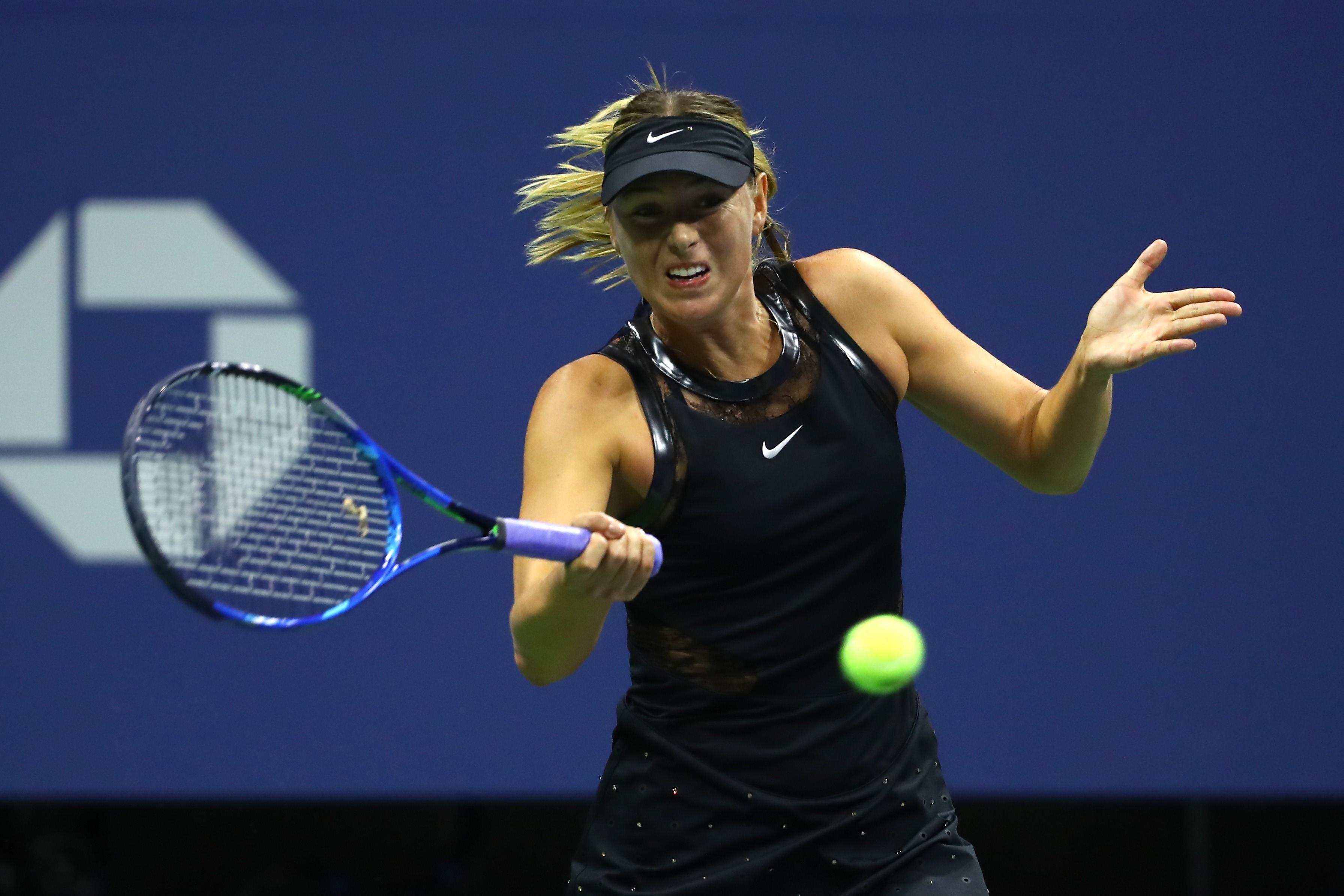 Мария Шарапова на US Open-2017