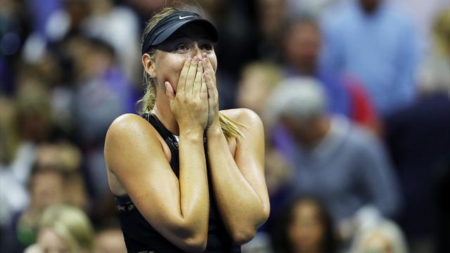 US Open : retour victorieux de Sharapova qui bat Halep