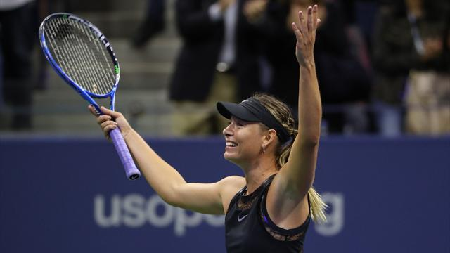 Sharapova determined to enjoy the moment
