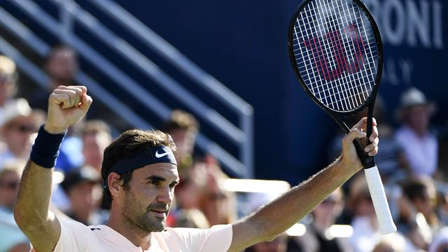 Federer ready to roll at Flushing Meadows