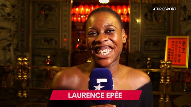 FISU: Laurence Epée, la esgrimista francesa que en el futuro quiere ser periodista