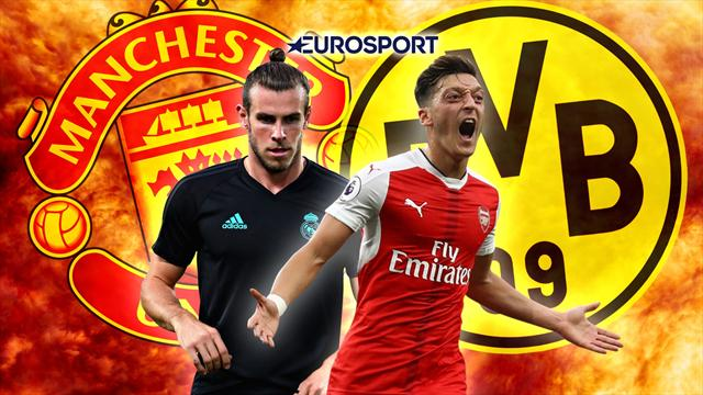 Euro Papers: Ozil offered Arsenal escape as United get new Bale boost