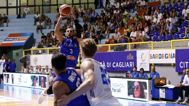 Eurobasket 2017: Gli azzurri sono un bulldozer dall'arco: Ucraina al tappeto (66-78)