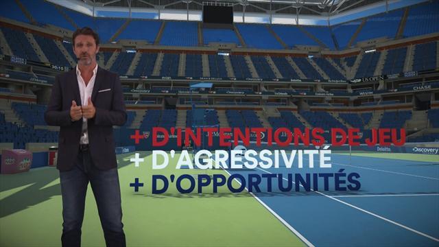 The Coach : Comment Federer a fait évoluer son jeu pour redevenir un favori de Flushing