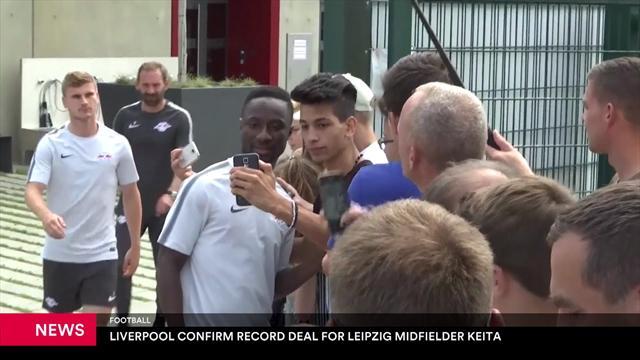 Liverpool confirm record deal for Leipzig midfielder Keita