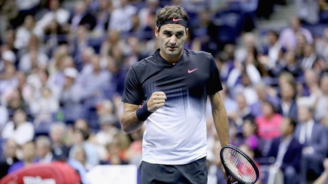 Federer joue à se faire peur