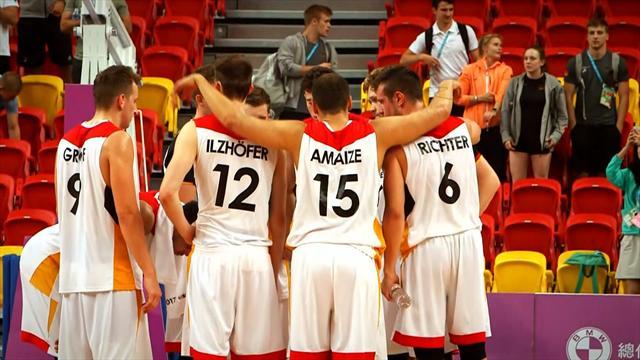 L'équipe d'Allemagne de basket a envie de revanche