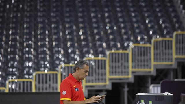 La selección española con buenas sensaciones tras ejercitarse en Polyvalent Hall