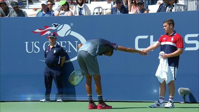 Her får tennisstjernen uventet behandling