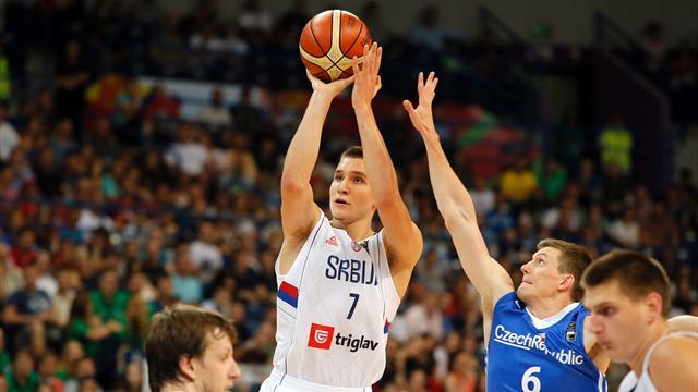 L'Italia affronterà la Serbia nei quarti: Bogdanovic e compagni eliminano l'Ungheria