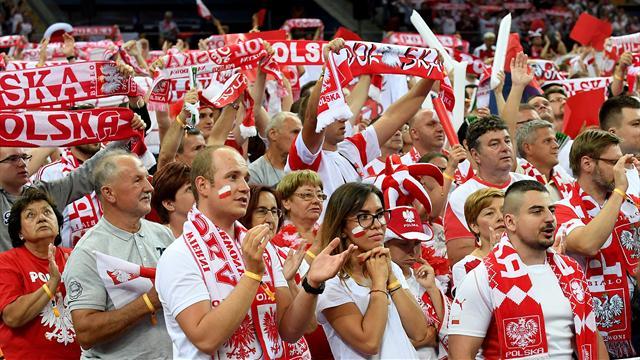 La Pologne également au tapis avant les quarts