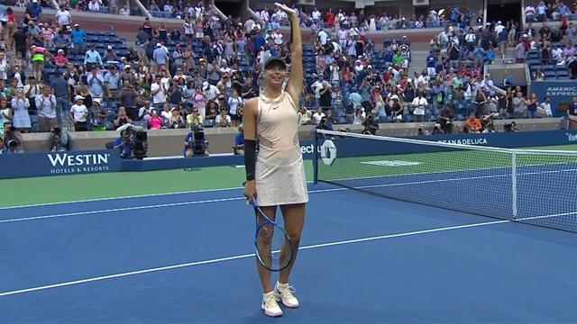 Encore trois sets, encore une victoire pour Sharapova