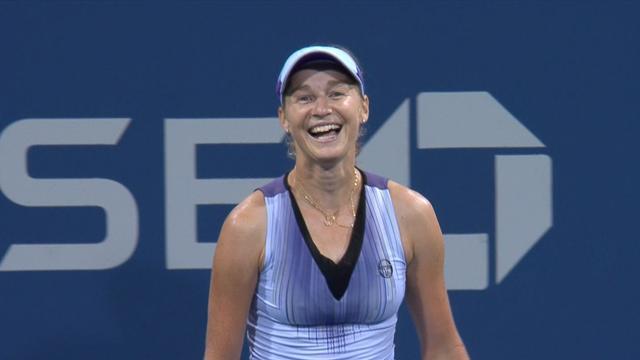 Slik røk Wozniacki ut av US Open
