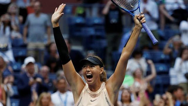 Sharapova está de vuelta en el US Open