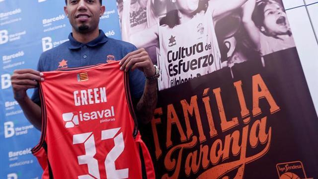 Erick Green: Quiero ayudar a repetir el título ACB y llegar al playoff de la Euroliga