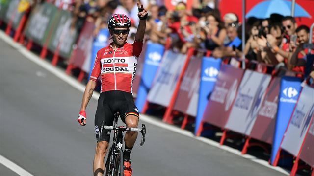 Марчиньский выиграл 12-й этап