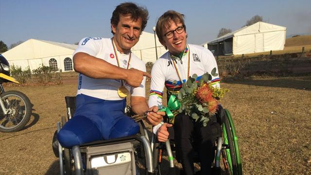 Infinito Zanardi! Oro ai Mondiali di paraciclismo nella giornata trionfale dell'Italia