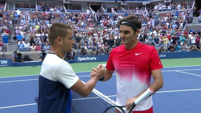 ABD Açık 2. Tur: Roger Federer - Mikhail Youzhny (Özet)