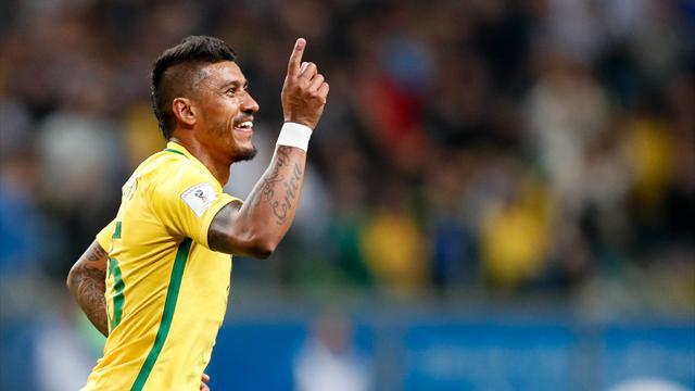 Clasificación Rusia 2018, Brasil-Ecuador: La Canarinha baila la samba de Coutinho y Paulinho (2-0)
