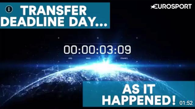 Deadline Day: As it happened