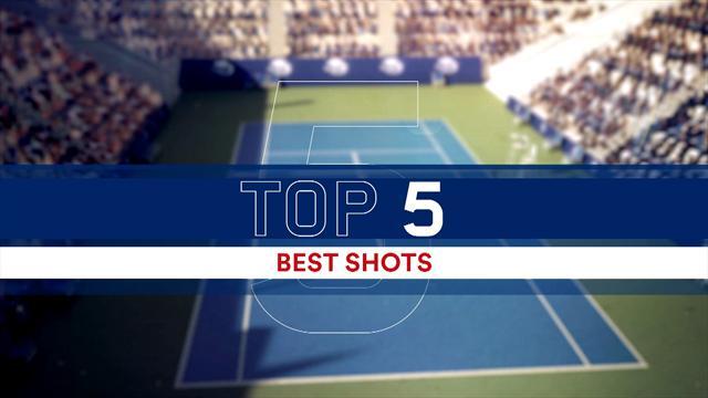 La top 5 dei colpi della finale femminile degli US Open