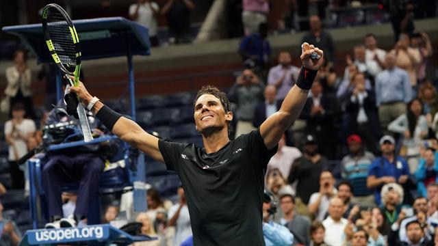 Nadal : un set pour se lancer, trois autres pour dérouler