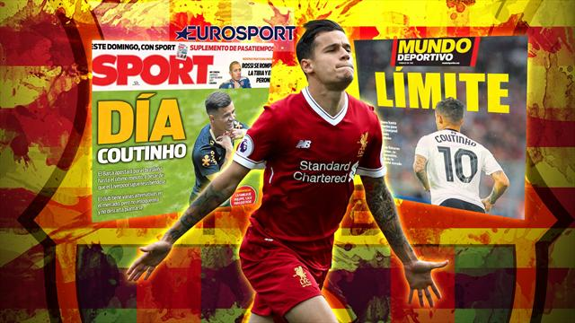 Euro Papers: Barcelona offer record fee in desperate attempt to sign Coutinho