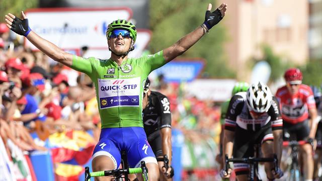 Trentin med sin tredje seier i årets Vuelta
