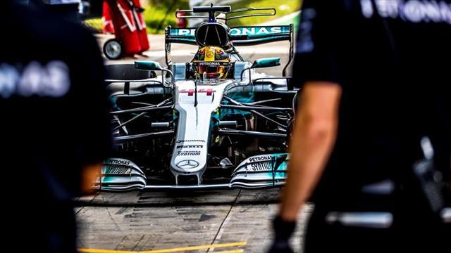 Mercedes empieza mandando en Italia con Hamilton y Bottas