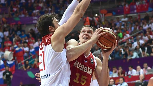 Россия проиграла Сербии в полуфинале Евробаскета
