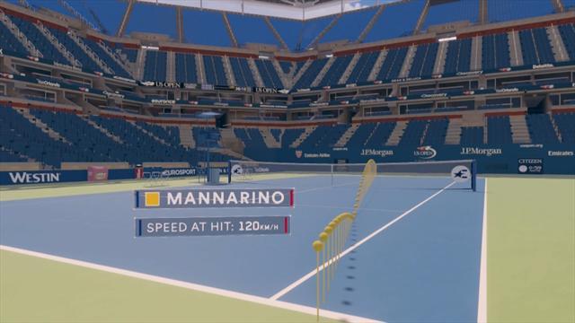 "The Coach : ""Mannarino a les armes pour gêner Thiem"""