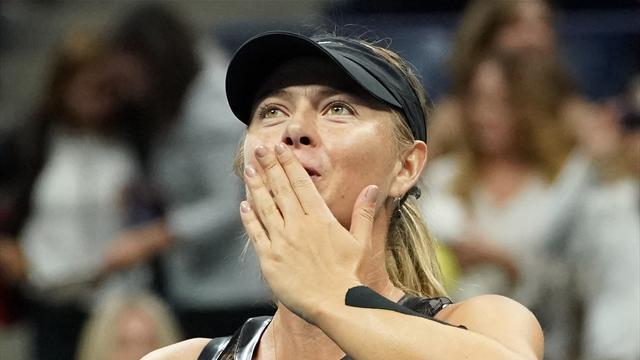 Sharapova'dan Türkiye'ye mesaj var