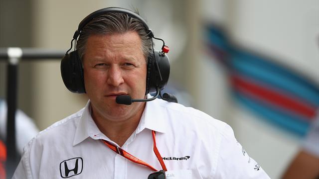 """Zak Brown tiene """"un plan a cinco años"""" para que McLaren vuelva a la victoria"""