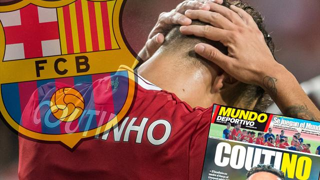 Euro Papers: Tears in Barcelona as Liverpool name Coutinho price