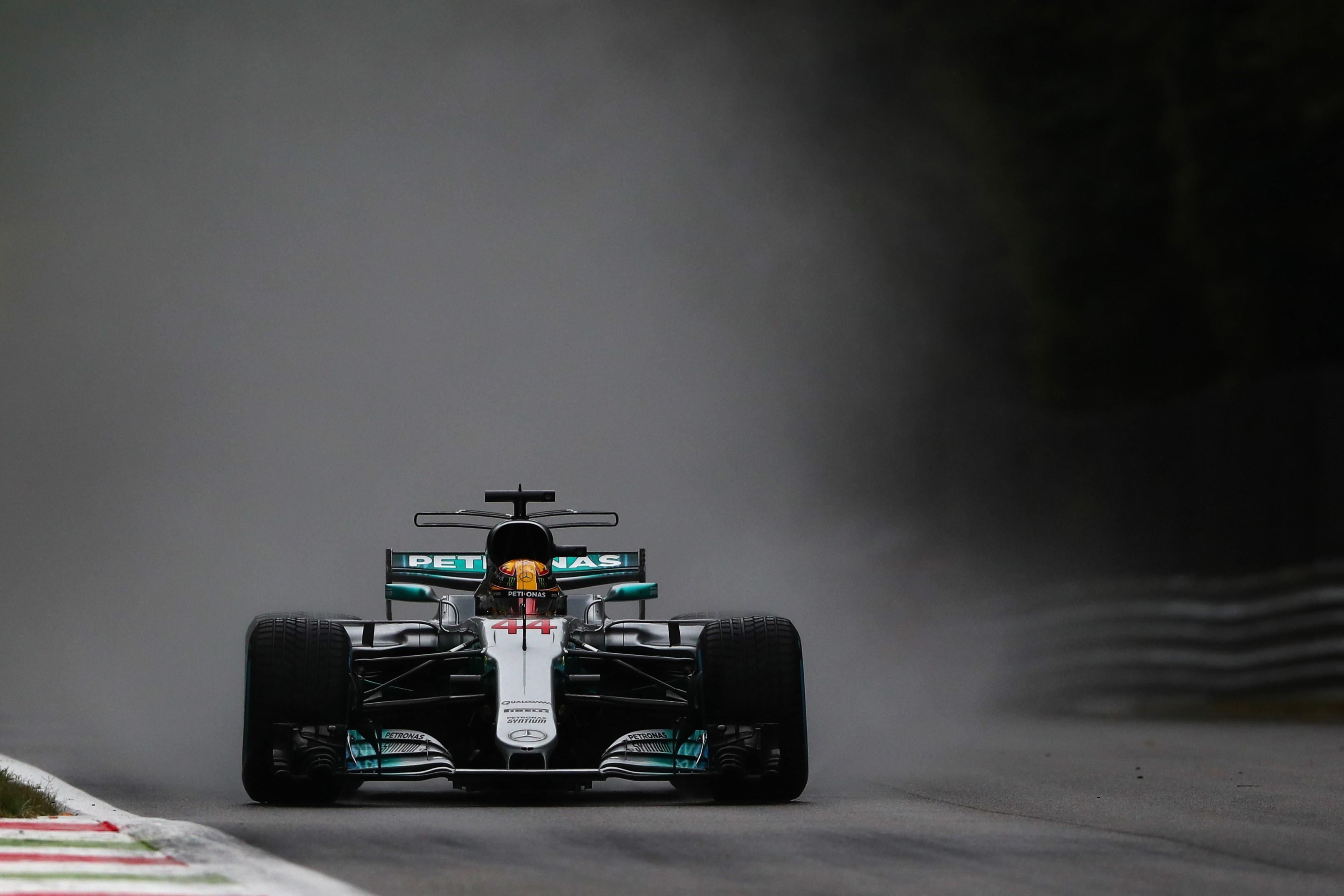 Lewis Hamilton (Mercedes) au Grand Prix de Italie 2017