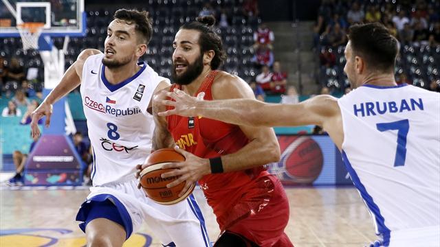 Victoria contundente de España ante la República Checa en el segundo partido del Eurobasket (56-93)