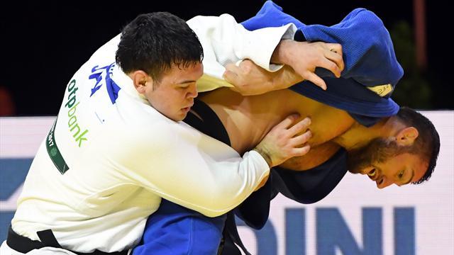 Aaron Wolf (-100 kg) en or, septième titre pour le Japon