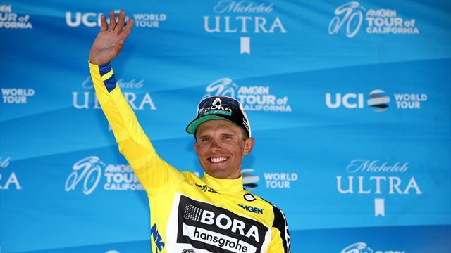 Майка выиграл 14-й этап