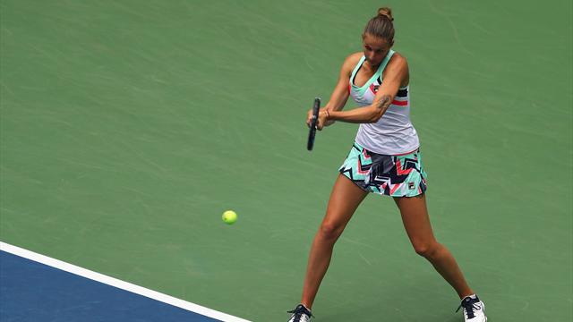Плишкова проиграла Вандевеге в четвертьфинале, Мугуруса возглавит рейтинг WTA