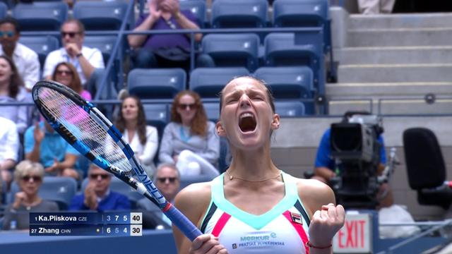 US Open - 3e tour: Pliskova revient de loin