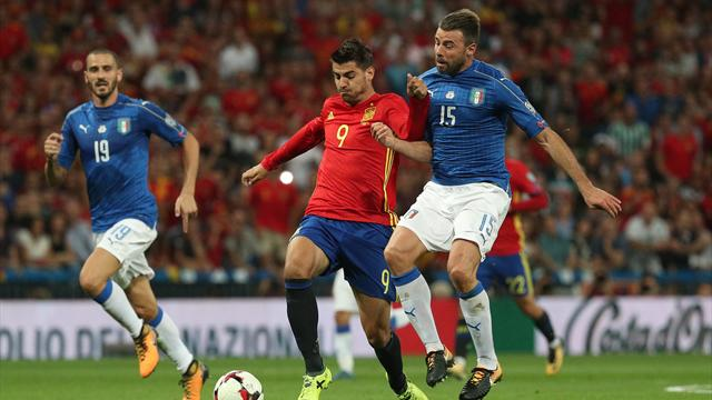 Morata pirker inn 3-0 etter Ramos-raid