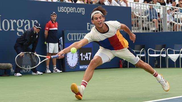 US Open - Thiem, immer wieder Thiem! Die 10 besten Punkte der Männer