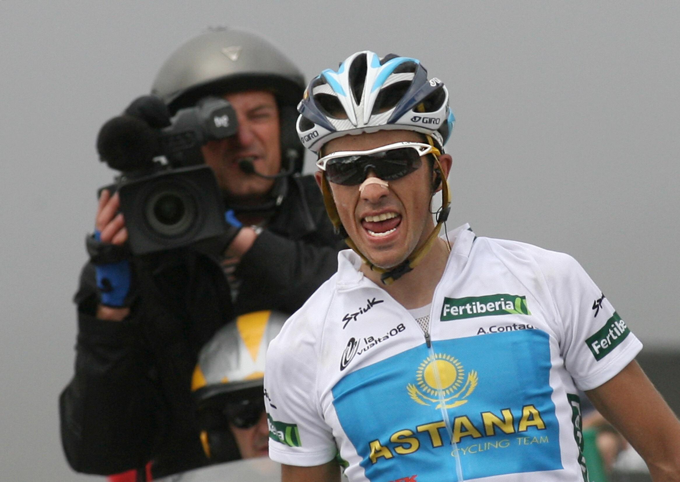 Alberto Contador ganando en Angliru | Longform Angliru