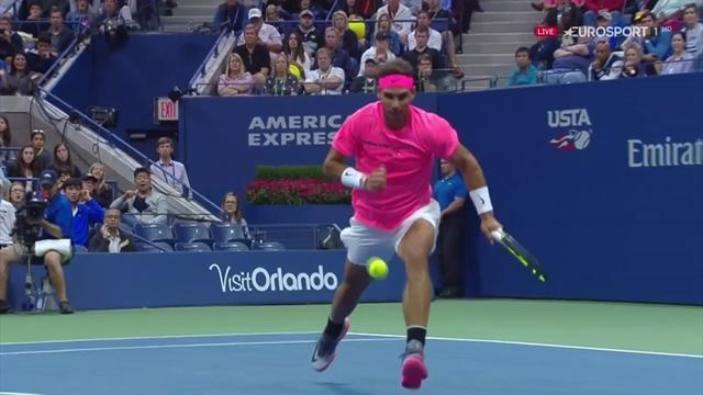 Nadal y Federer despiertan en el US Open