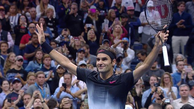 Terminés les matches en 5 sets, Federer a expédié Lopez : les temps forts de sa victoire