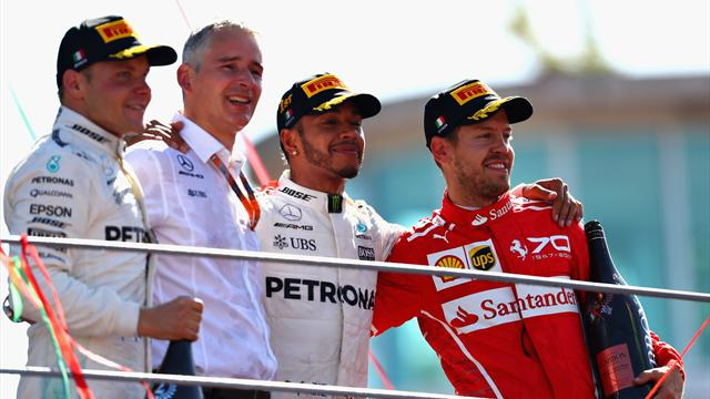 Paseo de Hamilton en Monza y vuelco al Mundial; Alonso, otra vez K.O.