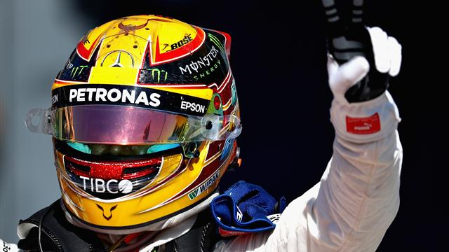 """Hamilton : """"La puissance du Mercedes est vraiment supérieure à celle du Ferrari…"""""""