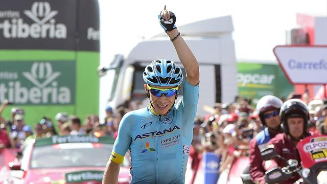 López vant knalltøff Vuelta-etappe