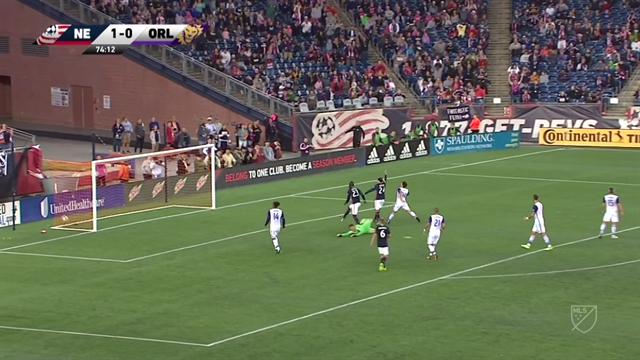 MLS: El hat-trick de Kei Kamara en la goleada de New England ante Orlando (4-0)